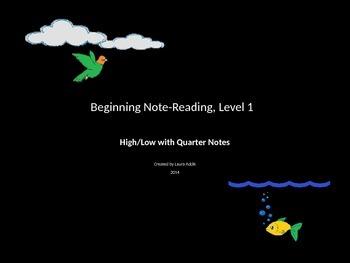 Beginning Note-Reading, Level 1