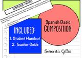 Basic Novice Spanish Composition