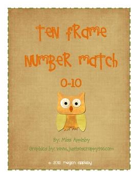 Beginning Number Concepts- Ten Frame- Fall