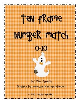 Beginning Number Concepts- Ten Frame- Halloween