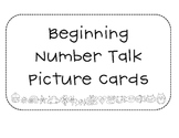 Beginning Number Talk Cards