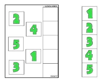 Beginning Numbers- Adapted Books Freebie!