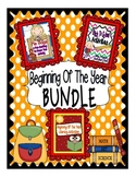 Beginning Of The Year Activities BUNDLE: 3 Beginning of the Year Products