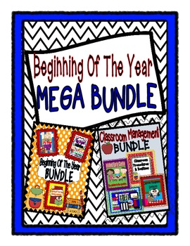 Beginning Of The Year MEGA BUNDLE: 7 Beginning of the Year Products(280 pgs)!!