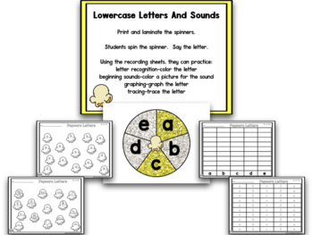 Popcorn Math And Literacy Centers