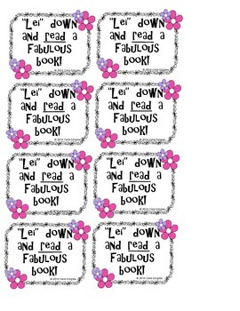 Beginning Of The Year Student Gift Tags {for use with a Lei}