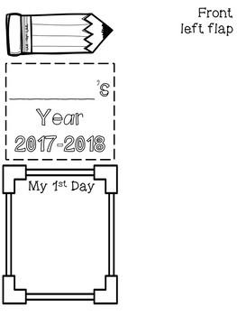 Beginning Of Year Lap Book