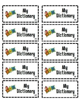 Beginning Of Year School Labels