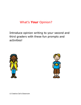Beginning of the Year Opinion Writing