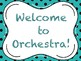 Beginning Orchestra First Day Lesson Plan
