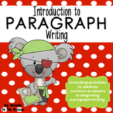 Beginning Paragraph Writing Plus Editing Common Mistakes