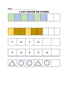 Beginning Patterns 2