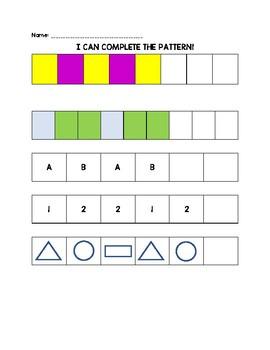 Beginning Patterns