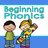 Beginning Phonics Printables! Perfect for end of the year review!