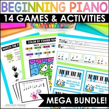 Beginning Piano MEGA BUNDLE for Elementary Students