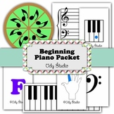 Beginning Piano Packet