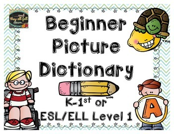 Beginning Picture Dictionary {find it....write it}