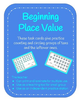 Beginning Place Value: Grouping a Collection into Tens and Ones