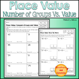 Beginning Place Value Worksheets Bundle Tens and Ones