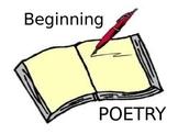 Beginning Poetry Terminology
