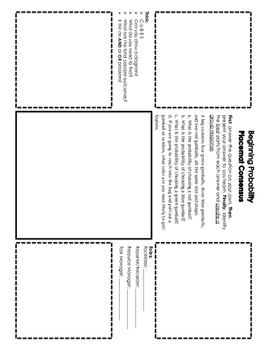 Beginning Probability Placemat Consensus