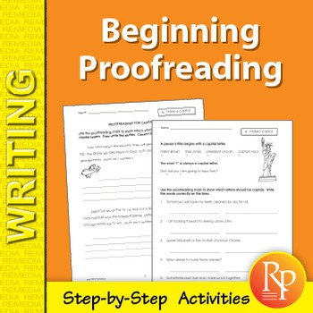 Beginning Proofreading: Step-by-Step Activities