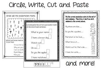 Beginning Punctuation Pack