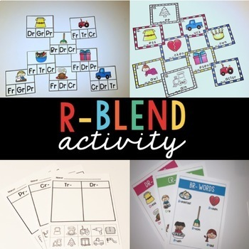 Easy Prep R Blend Worksheets and More