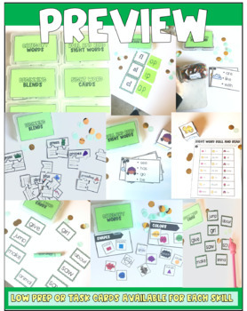 Emergent/Early Reader Activities and Additional Support {IRLA Green Level}