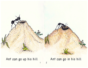 "Beginning Reader Book: ""Ant"""
