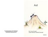 """Beginning Reader Book: """"Ant"""""""
