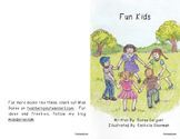 "Beginning Reader Book:  ""Fun Kids"""