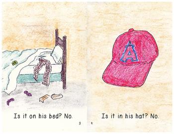 "Beginning Reader Book: ""Lost Gum"""