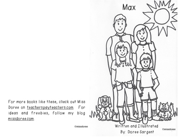 "Beginning Reader Book: ""Max"""