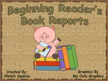 Beginning Reader's Book Reports