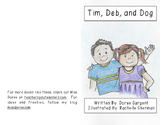 "Beginning Reader Book:  ""Tim, Deb, and Dog"""