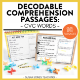 Beginning Reader Comprehension Passages: CVC Edition | DIG