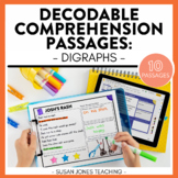 Beginning Reader Comprehension Passages: Digraph Edition |
