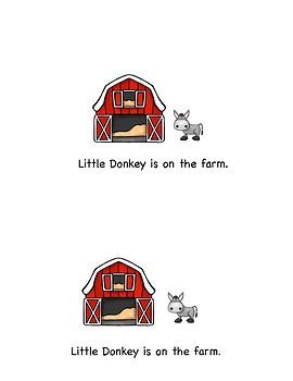 Beginning Reader:  Farm Babies