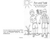 "Beginning Reader Book: ""Jon and Todd"""
