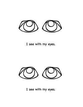 Beginning Reader: My Five Senses
