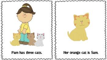Beginning Reader: Pam's Cats (short /a/)
