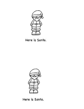 Beginning Reader:  Santa's Elves