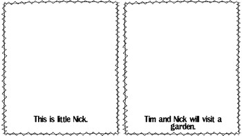 Beginning Reader: Tim and Nick {short /i/}
