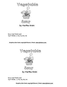 Beginning Reader: Vegetable Soup