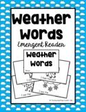 Weather Words Emergent Reader