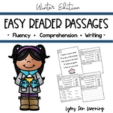 Beginning Reader Winter Reading Passages and Comprehension