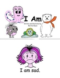 "Beginning Readers book 1- ""I Am"" and Matching Game"