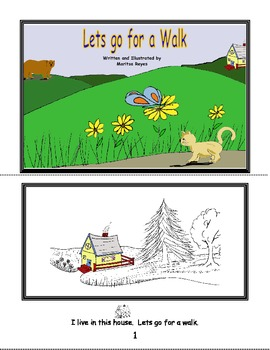 Beginning Readers-Book 5-Lets Go for a Walk