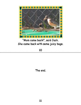 Beginning Readers Book- Mom Came Back